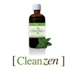 Clean Zen - 100ml - פורמולה לניקוי הגוף מרעלים